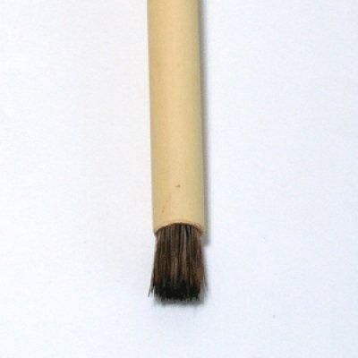 画像1: たたき筆(毛先細) 小 7mm