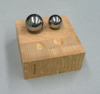 画像2: 球 クローム 1インチ(直径25.4mm)
