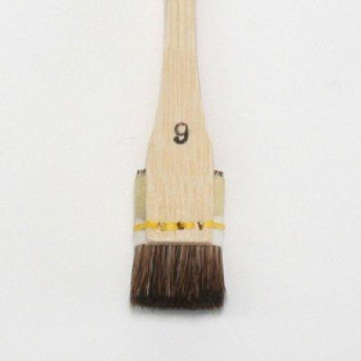 画像1: ぼかし刷毛(腰強) 6号 18mm