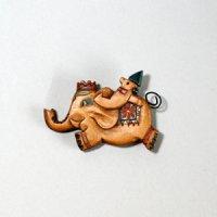 ゾウとロボット ピン付