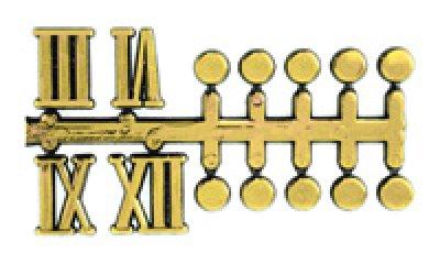 画像1: 文字符 ドット・ローマ数字 BF-213