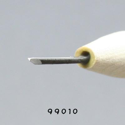 画像: 手作り 彫刻刀三角型1mm