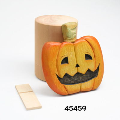 画像1: 笑ってハロウィン スタンド付 シナ材
