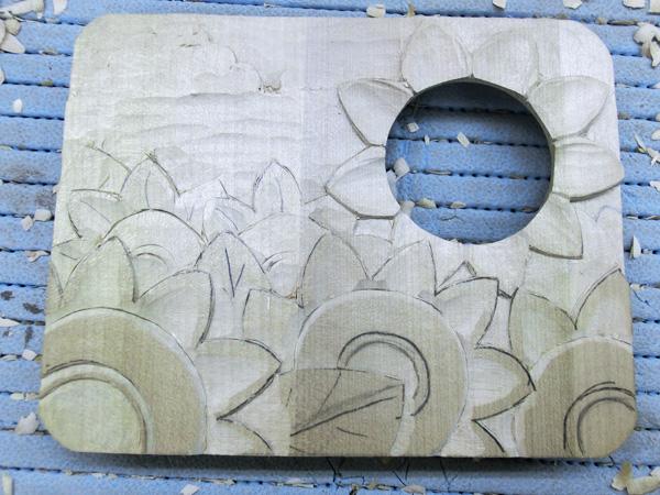 画像4: 灯りを下さい ひまわり畑 朴材
