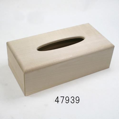 画像2: ティッシュボックス 87mm 朴材 浅型・深型兼用
